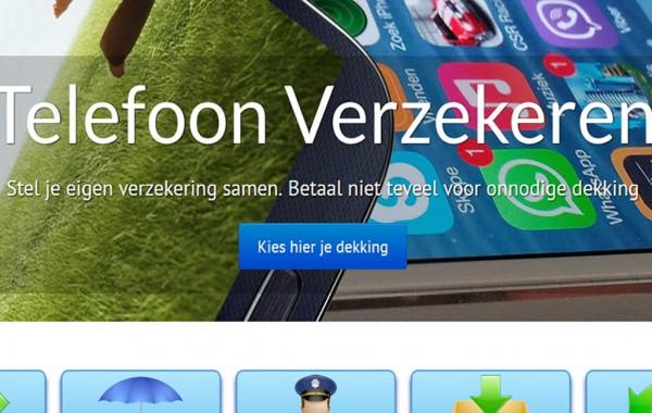 Webdesign GSM-Verzekeren.eu